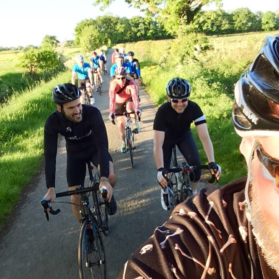 Tour21 Jim And His Peloton Cycle From London To Lostock