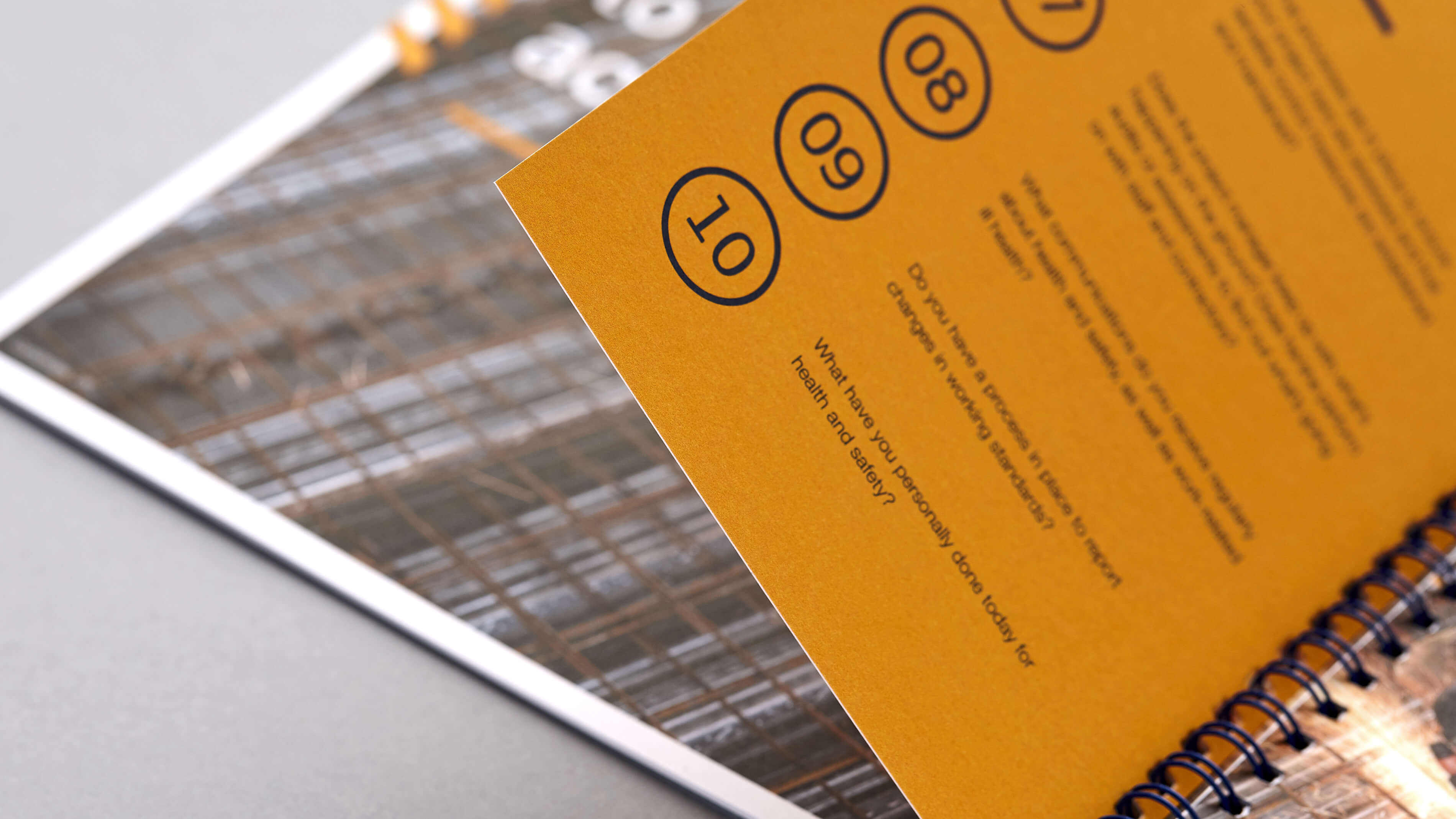 Print design that empowers employees to think safety first