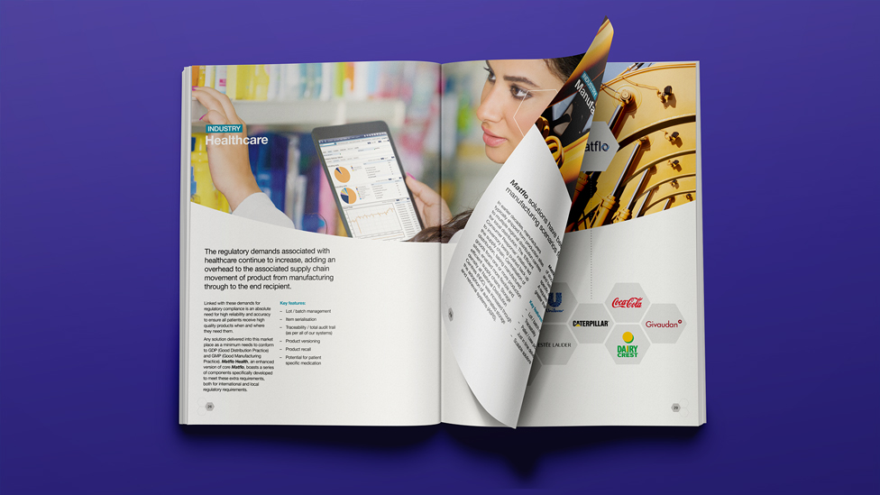 Business brochure design-