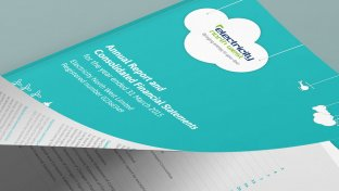 Corporate annual report design
