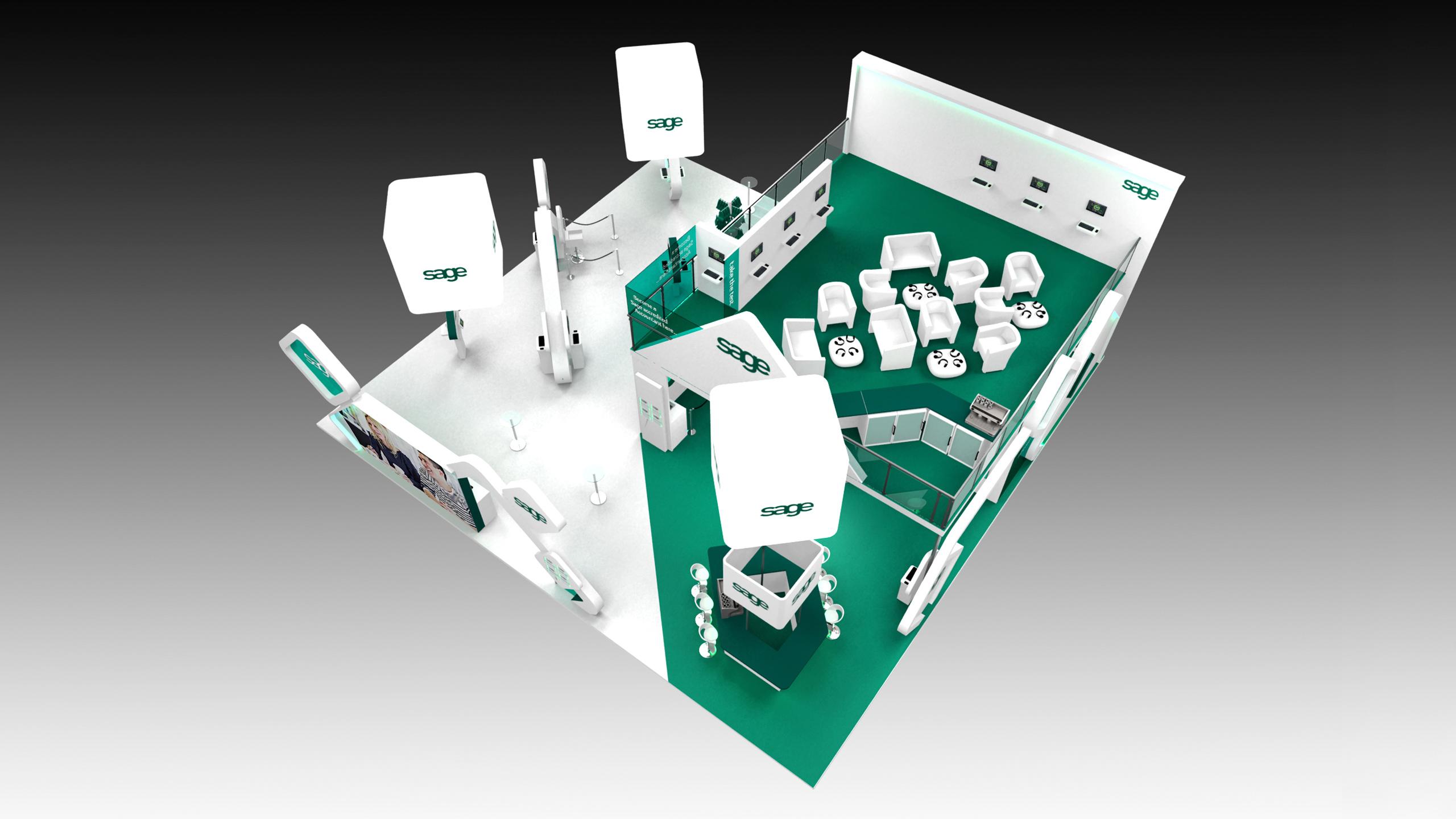 Exhibition Stand Design Cheshire : Double decker exhibition stand london cheshire cambridge
