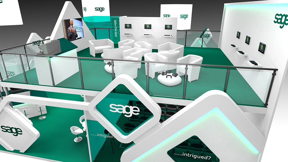Exhibition Stand Design Companies Uk : Double decker exhibition stand london cheshire cambridge