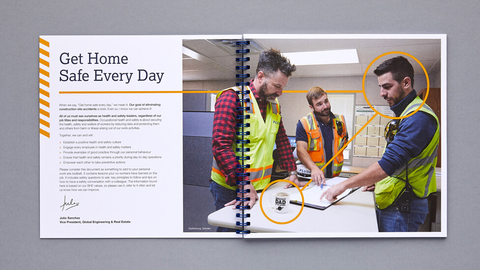 Employee engagement brochure