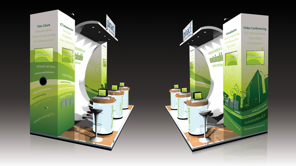 Exhibition booth design and build