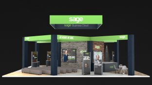 Exhibition Stall Branding : Exhibition stand build u2013 parker u2013 london cheshire cambridge