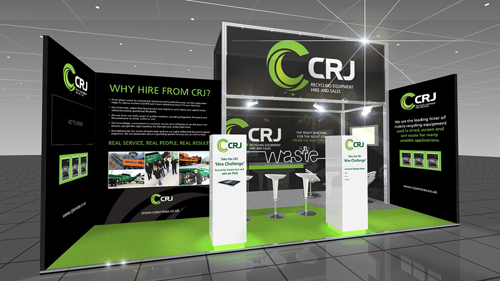 Exhibition stand design & build