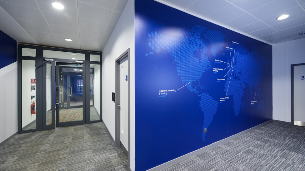 Internal office signage london cheshire cambridge for Office branding ideas