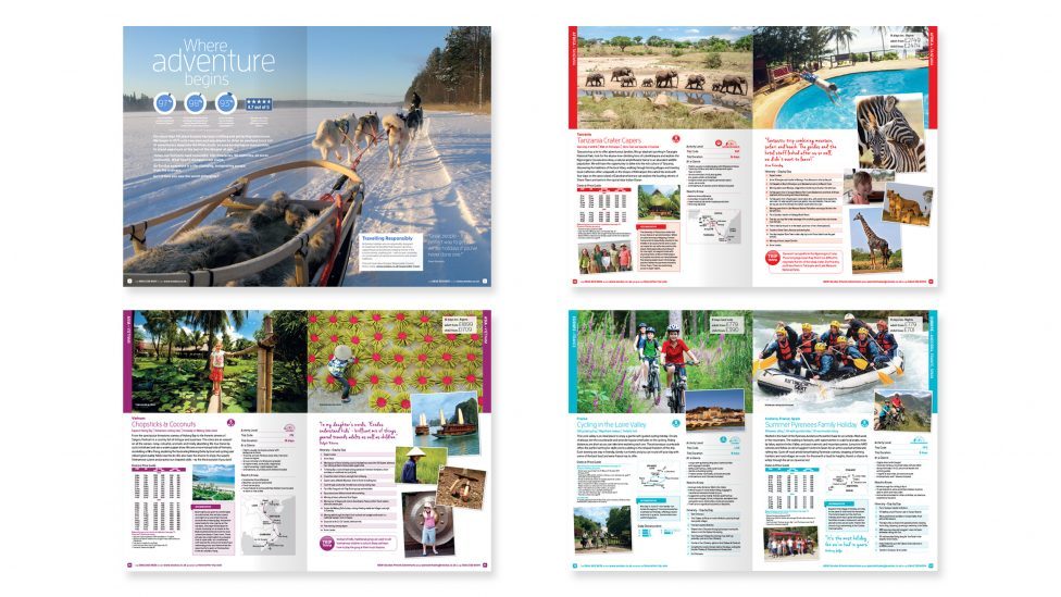 Holiday Brochure Design