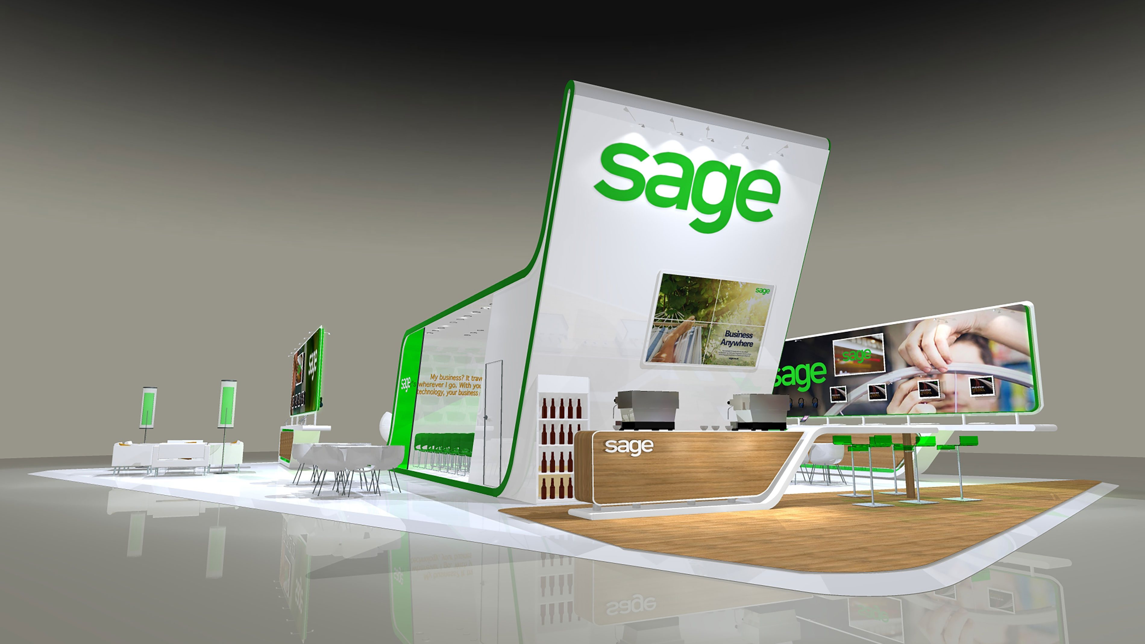 Small Exhibition Stand Design : Parker design consultants creative agency london