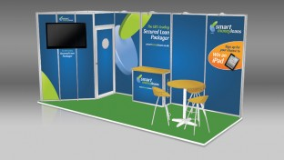 Modular exhibition booth