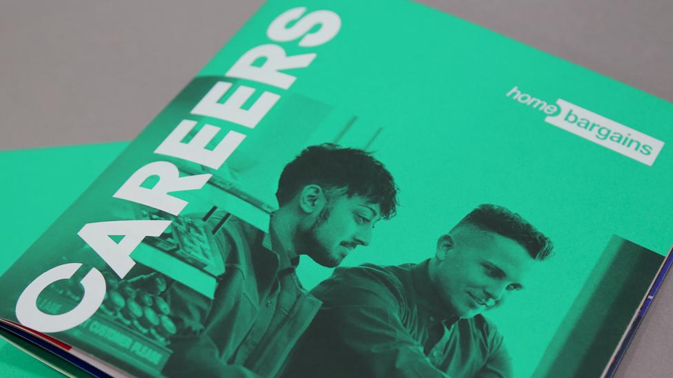 recruitment brochure design