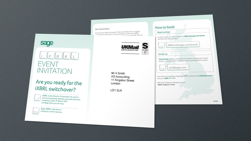 Direct mail design and print