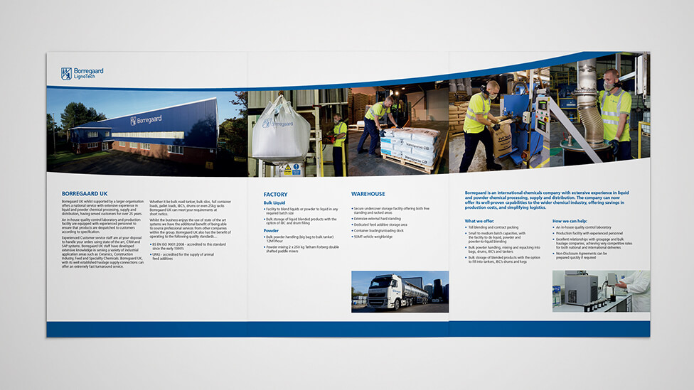 Sales collateral design