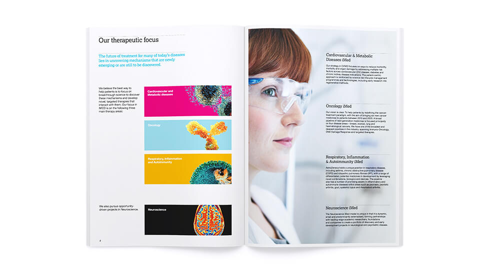 Science brochure design