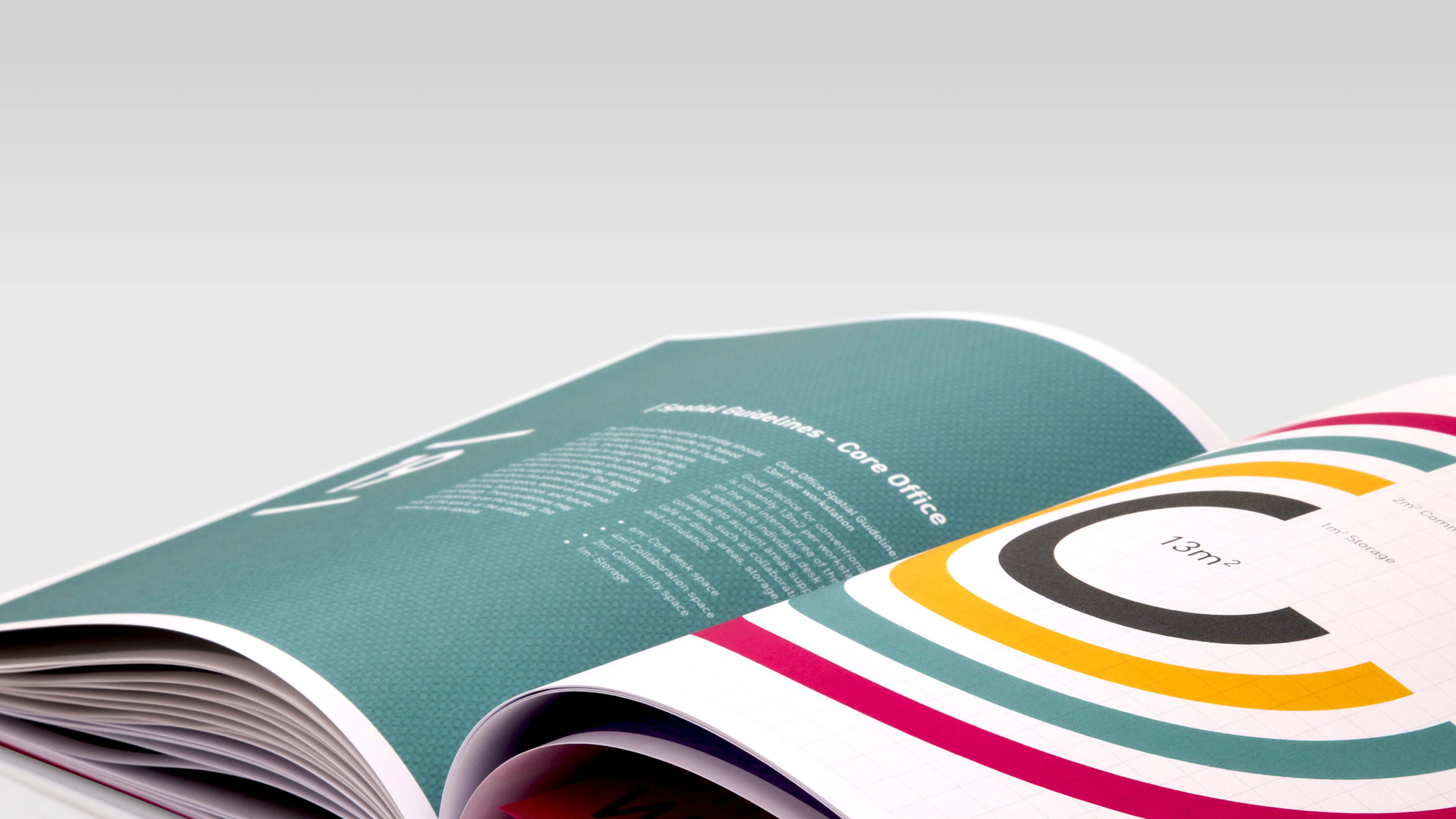 Brochure design to inspire creativity at work