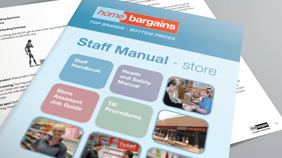 Staff Manual Design – Cheshire, London, Cambridge