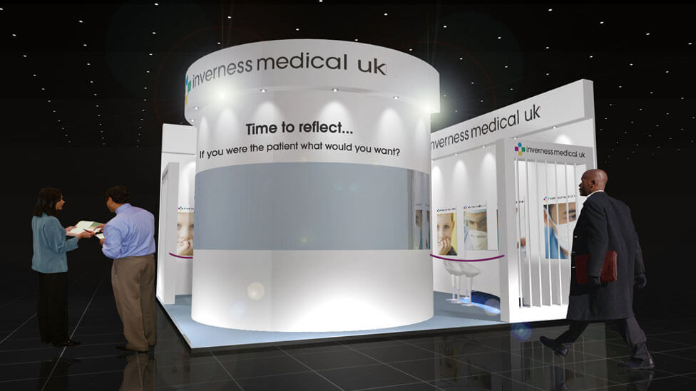 Custom Exhibition Stand Up Comedy : Trade show stand design u london cheshire cambridge