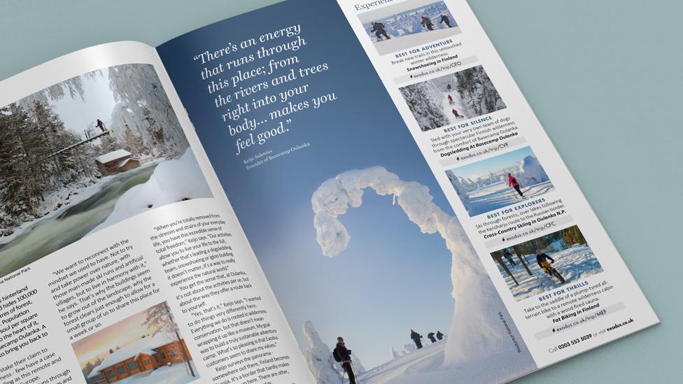 travel magazine