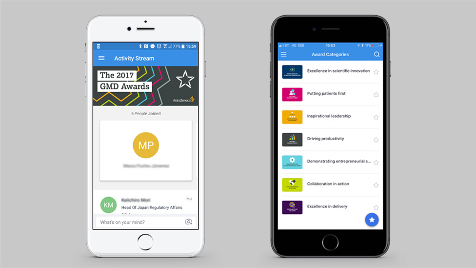 awards management app