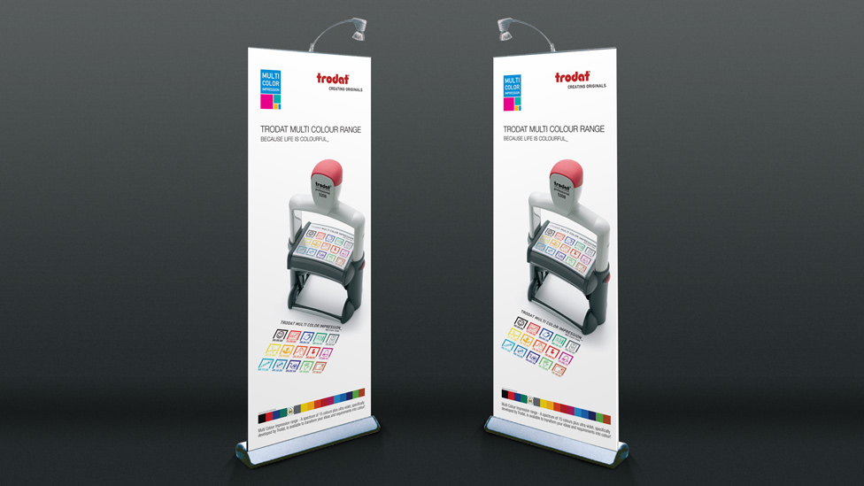 Banner display system design