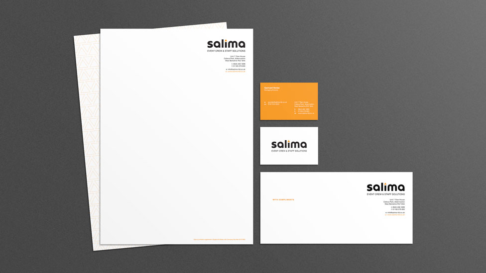 Branding and stationery