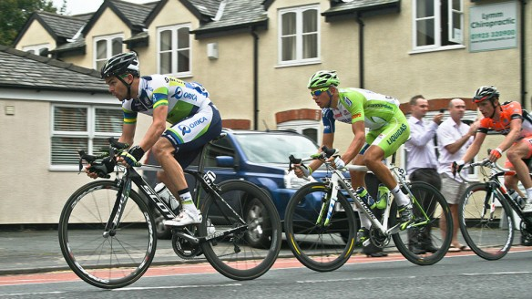 The breakaway - Jack Bobridge, Matthias Krizek and Peter Williams