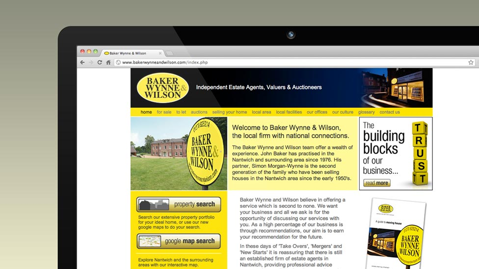 BWW Cheshire Web Design