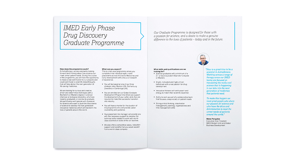 Careers brochure design