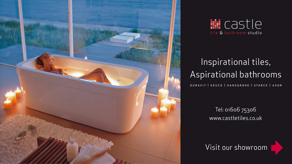 Billboard advertising london cheshire cambridge for Bathroom design north london