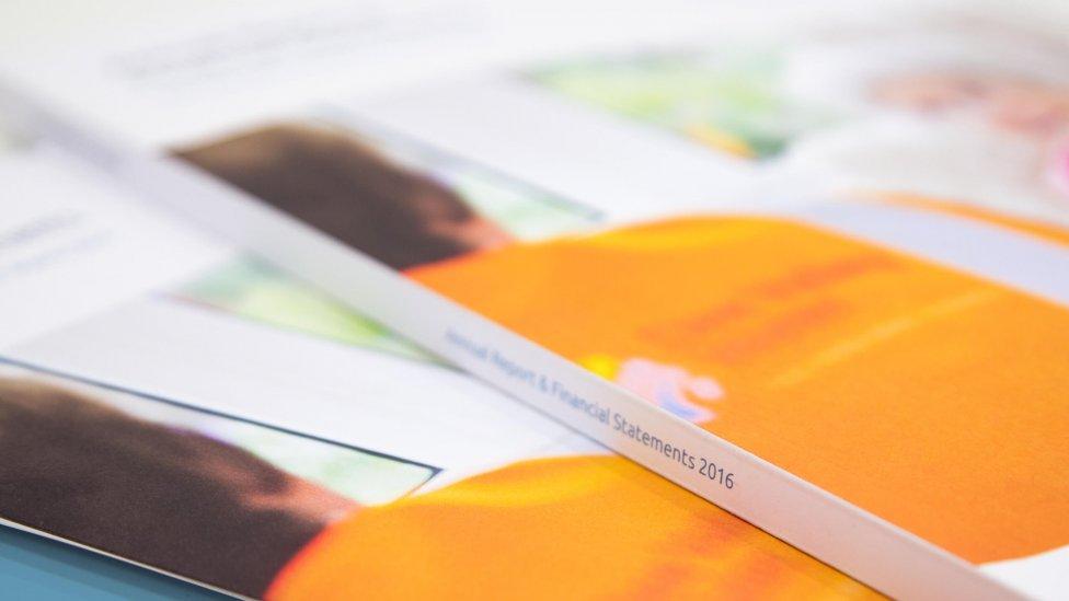company annual report design