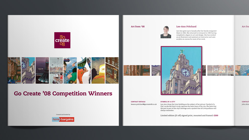 Competition brochure design