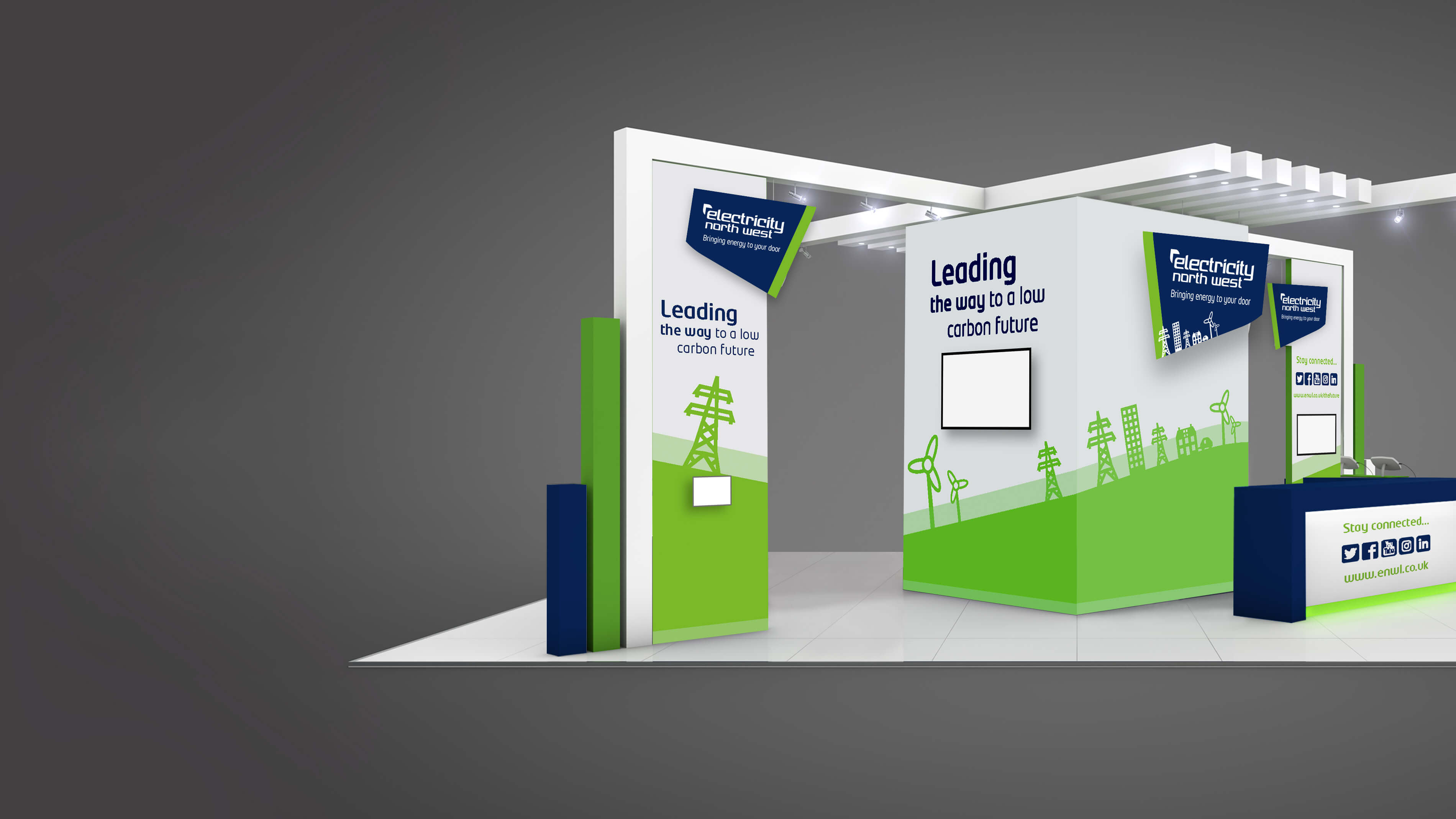 Exhibition stand design that gives you a different edge