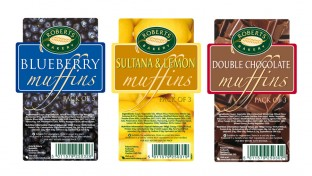 Food labels design
