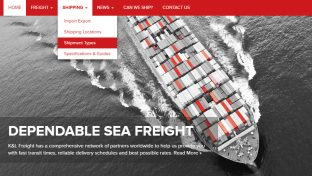 freight-shipping-web-design