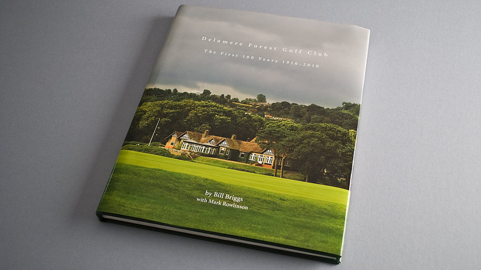 Golf Club Book Graphic Design Cheshire UK