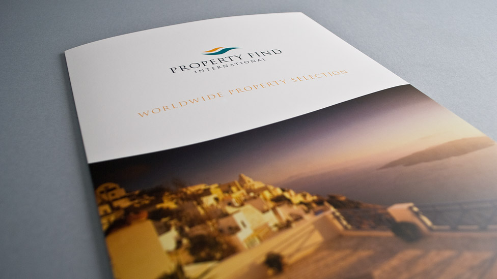 International Property Brochure Design  Cheshire London Dubai