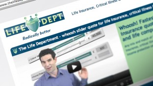 Life Department Web Design Cheshire