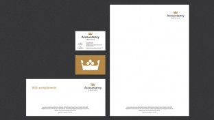 New company stationery design