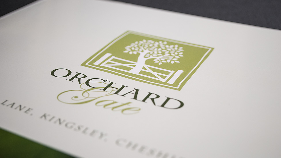 Orchard Gate Property Logo Design