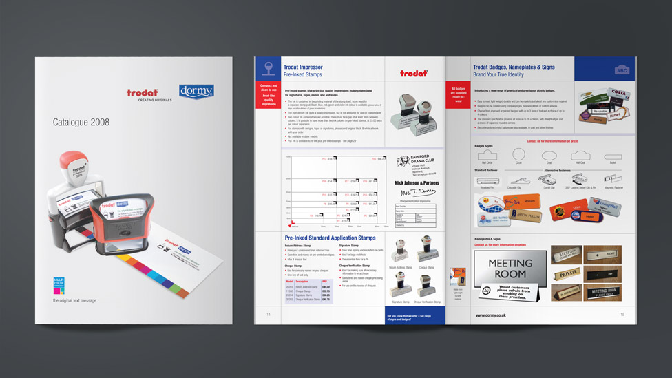 Product Catalogue Design  U2013 London  Cheshire  Cambridge