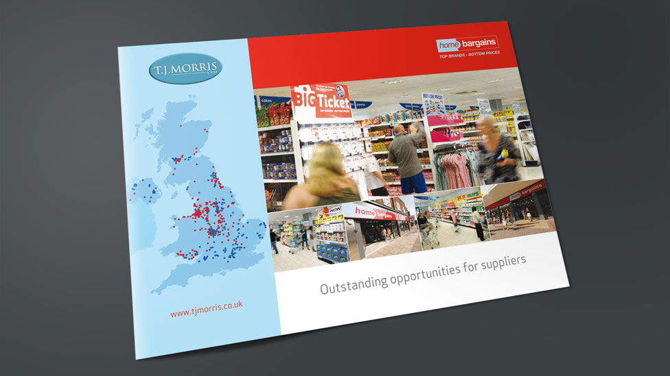 retail brochure design