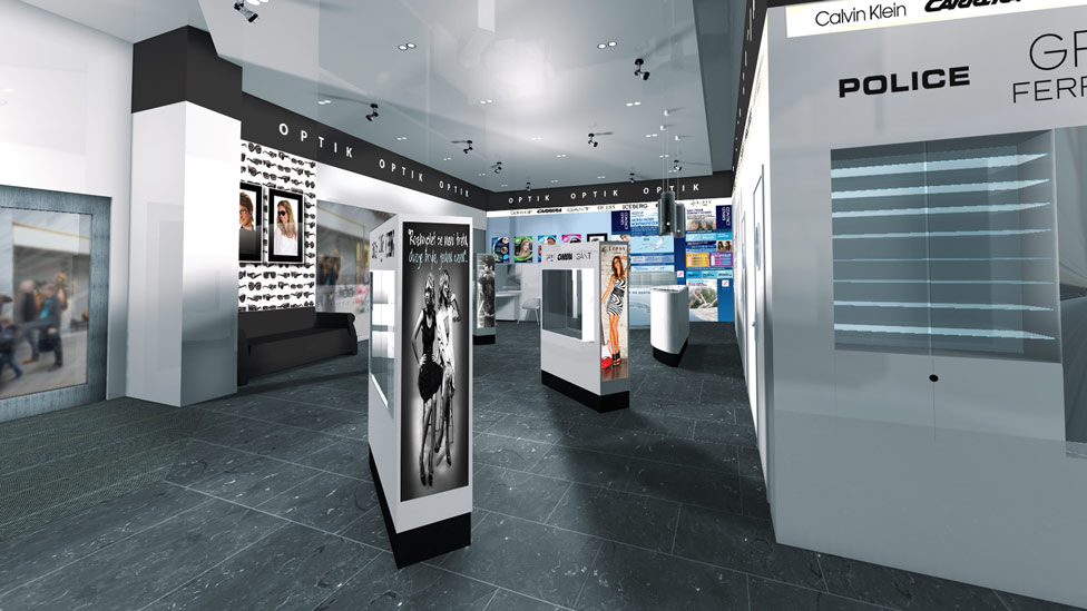 Retail Point of sale design