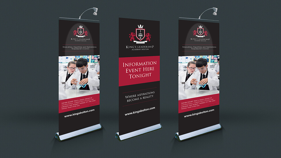 school pull-up banners