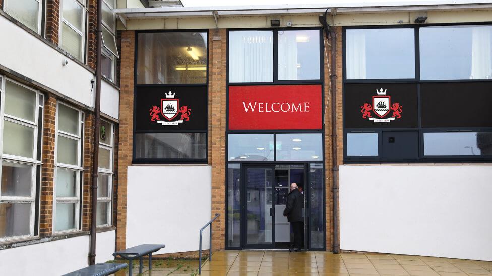 school rebrand