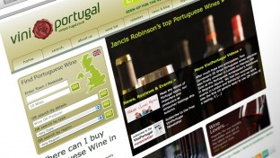 Vini Portugal UK Web Design