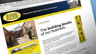 Estate agency website